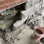 fondation, Réparation de fondation