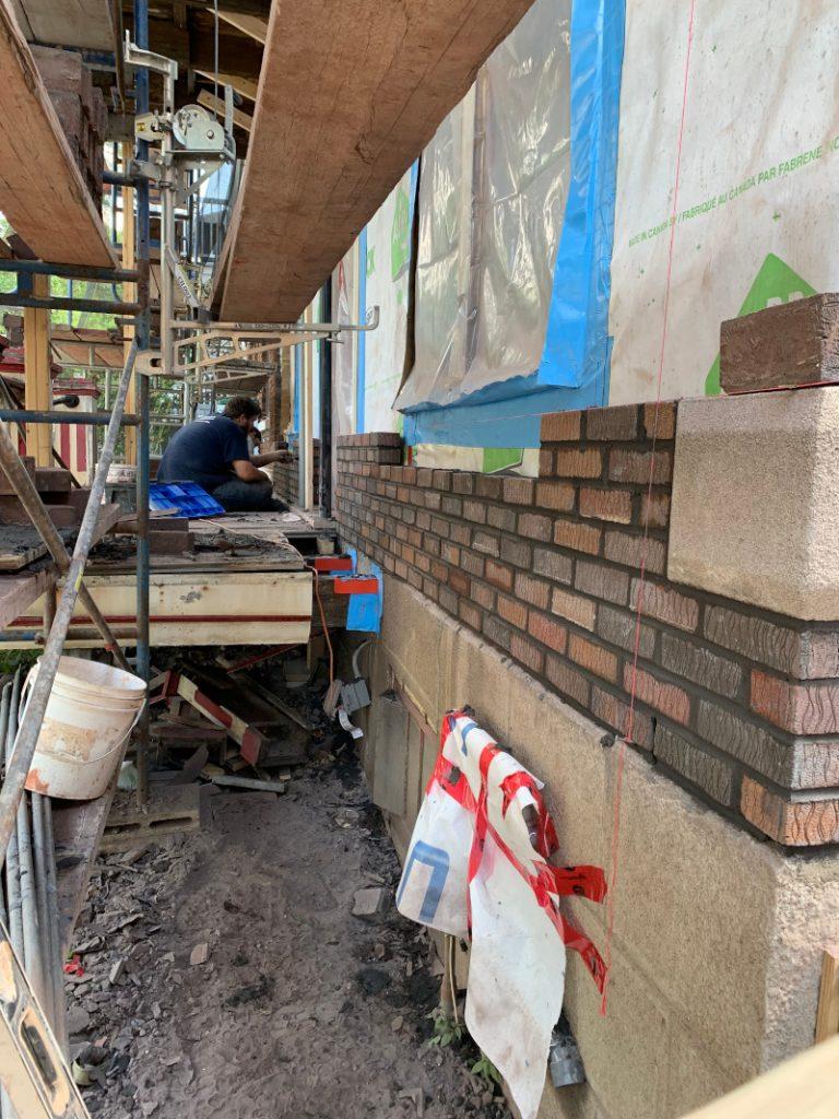 Maison de brique, Maison de brique, Entreprises Md Construction