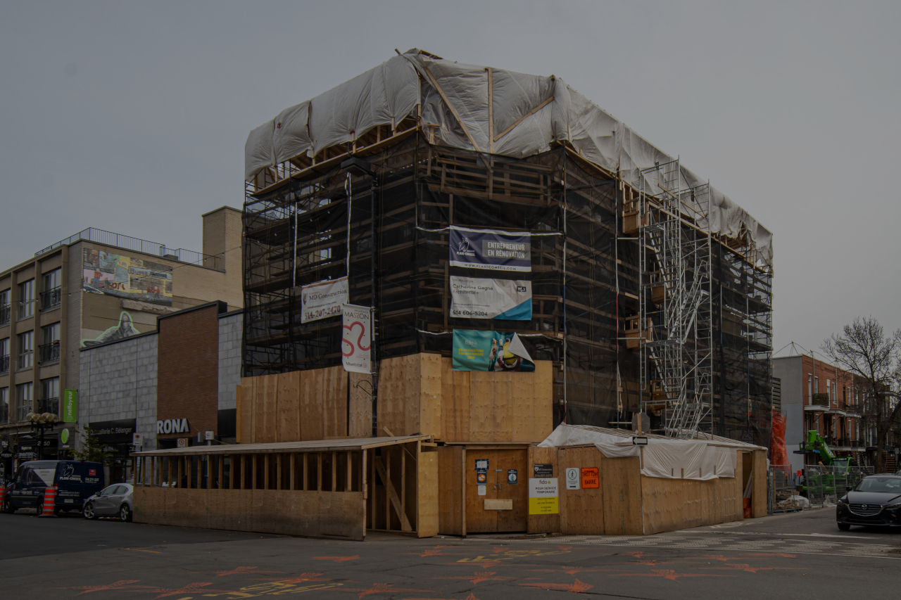 maçonnerie, EMD Construction
